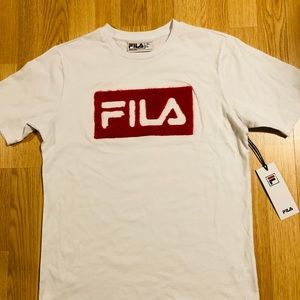 """Brand new """"FILA"""" t-shirt size Small with tag"""